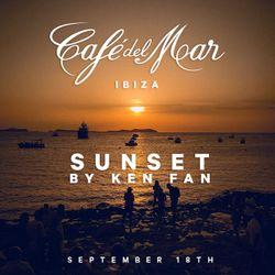 Café del Mar Ibiza Sunset by Ken Fan (18.9)