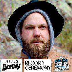 2015-09-20 Record Ceremony KNCE 93.5 w Miles Bonny