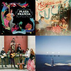 Movimientos show: 8/4/15 w/ Cocotaxi, iZem ft Nina Miranda, Plaza Francia, Flavia Coelho, Bixiga 70