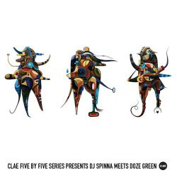 CLAE Five By Five Series: Dj Spinna