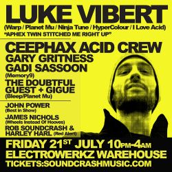 Luke Vibert - Electrowerkz Exclusive Mini Mix