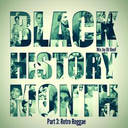 @DJOneF Black History Month - Pt.3: Retro Reggae