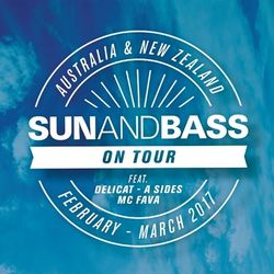 DJ Delicat featuring MC Fava (Sun and Bass) @ Bondi Beach! Radio 91.1 FM, Australia (03.02.2017)