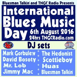 International Blues Day Mix #1 on TNGC Radio