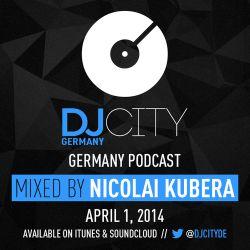 Nicolai Kubera - DJcity DE Podcast - 01/04/14