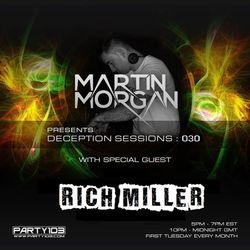 Deception Sessions 030 with Rich Miller Guestmix