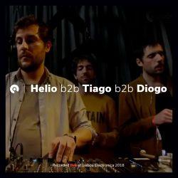 Pandilla LTD - Helio b2b Tiago b2b Diogo @ Lisboa Electronica 2018 (BE-AT.TV)