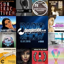 DEEPINSIDE RADIO SHOW 068 (Mark Di Meo Artist of the week)