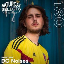 SaturdaySelects Radio Show #180 ft DC Noises