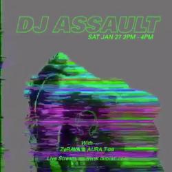 Zøraya and Aura T-09 w/guest DJ Assault – The Phuture Perfect (01.27.18)