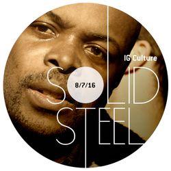 Solid Steel Radio Show 8/7/2016 Hour 2 - IG Culture