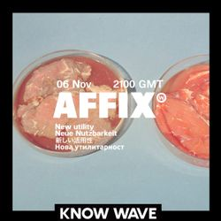 AFFIX WORKS feat. ELLIS - November 6th, 2018