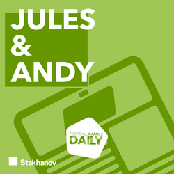 Jules & Andy: Working from Euro 2020, the Women's football weekend, and our favourite ever matches