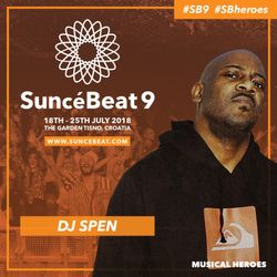 Suncebeat Musical Heroes Mix Series #1 - The Mighty DJ Spen