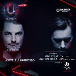 Axwell Ʌ Ingrosso LIVE @ UMF Korea - Day 2