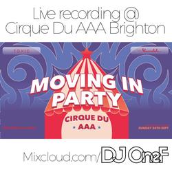 @DJOneF LIVE @ Cirque Du AAA Brighton 24.09.17 [00's R&B]