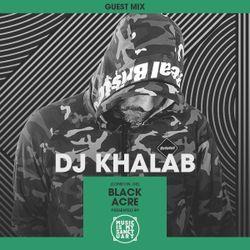 MIMS Guest Mix: DJ KHALAB (London, Black Acre Records)