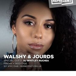 Reprezent Radio Guest Mix - Walshy & Jourds show - Friday 16th March 2-5pm