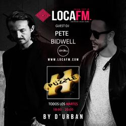 Exclusive Mix from Pete Bidwell for Puzzle Ibiza By D'urban on Loca Fm Ibiza 107.6 FM 24 Apr 2018