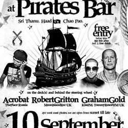 Graham Gold-Pirate bar Moonset party September 2014