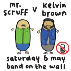 Mr. Scruff & Kelvin Brown DJ set from Manchester Band on the Wall, Sat 6th May 2017
