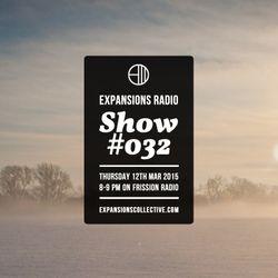 Expansions Radio - Show 32 (new music from Orijanus, MNSTRMKK, UNDA, El Train, Ben Ba Da Boom...)