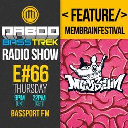 BASS TREK 66 with DJ Daboo on bassport.FM
