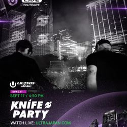 Knife Party LIVE @ Ultra Music Festival Japan 2017 Day 2