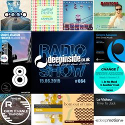 DEEPINSIDE RADIO SHOW 064 (Groove Assassin Artist of the week)