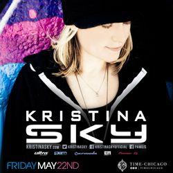 Kristina Sky Live @ TIME (Chicago) [05-22-15]