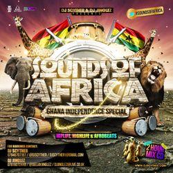 #SoundsOfAfrica Mix CD - Ghana Independence Special - Mixed By @DJScyther & @DeejayJinglez