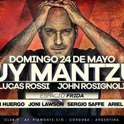 Guy Mantzur (Lost & Found, Sudbeat, Plattenbank Records) @ Club F - Córdoba, Argentina (24.05.2015)