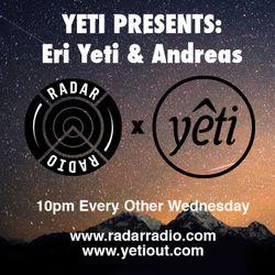 Yeti Presents:  ERI YETI  w/ ANDO Live on Radar Radio - 26/11/14