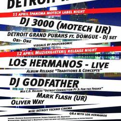 Los Hermanos (Live) @ Detroit Weekend, Maastricht NL