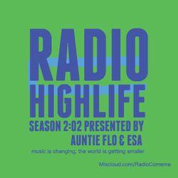 """Highlife"" 08 radio show by Auntie Flo & Esa Marvin Granger Williams"