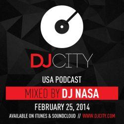 DJ NASA - DJcity Podcast - Feb. 25, 2014