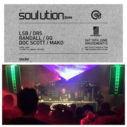 Soul:Ution 4Marcus (BreakThru) RAndall B2B Doc Scott & McConrad 10/06/17 @Amusement13 Birmingham