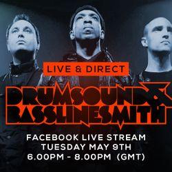 Drumsound & Bassline Smith - Live & Direct #37 [09-05-17]