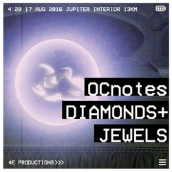 OCnotes Top Tree Diamonds Jewels Mix