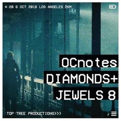 OCnotes Top Tree Diamonds & Jewels Mix 8
