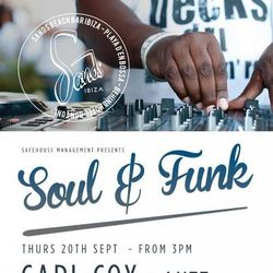 Part II - Carl Cox / Funk & Soul party @ Sands Ibiza / 20.09.2012 / Ibiza Sonica