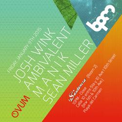 AMBIVALENT - OVUM SHOWCASE @ LA SANTANERA, THE BPM FESTIVAL 2015 - 9 ENE 2015