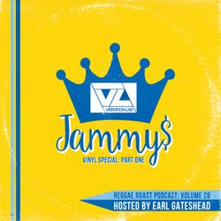 RR Podcast Volume 28: Vibration Lab 'Jammy's Vinyl Special: Part One' - Hosted by Earl Gateshead