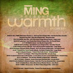 MING Presents Warmth 071