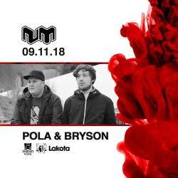 Pola & Bryson (Shogun Audio, Soulvent, Spearhead) @ Lakota Bristol x Nu:Motive PromoMix (09.11.2018)