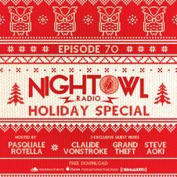 Night Owl Radio 070 ft. Claude VonStroke, Grandtheft and Steve Aoki