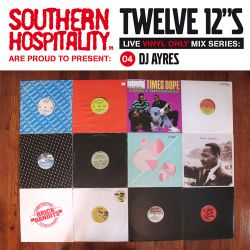 Twelve 12's Live Vinyl Mix: 04 - DJ Ayres