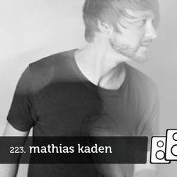 Soundwall Podcast #223: Mathias Kaden