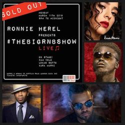 #TheBIGRnBShow LIVE!! Live & Loaded R&B Pull Up! March 11th 2019 (No Adverts)