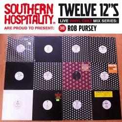 Twelve 12's Live Vinyl Mix: 38 - Rob Pursey – Star Trak Special